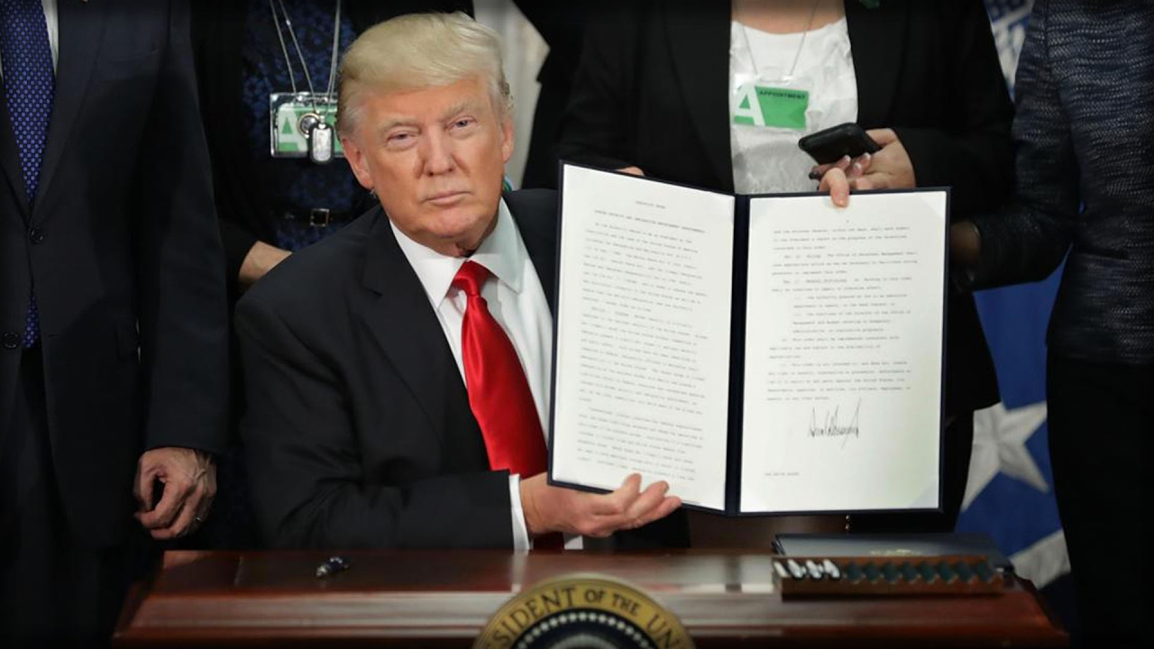 executive orders The flood of executive directives flowing from the white house — or from other photogenic signing spots — was a notable part of president donald trump's first week in office there will be plenty to analyze as the administration continues — many more such directives have been promised, and.