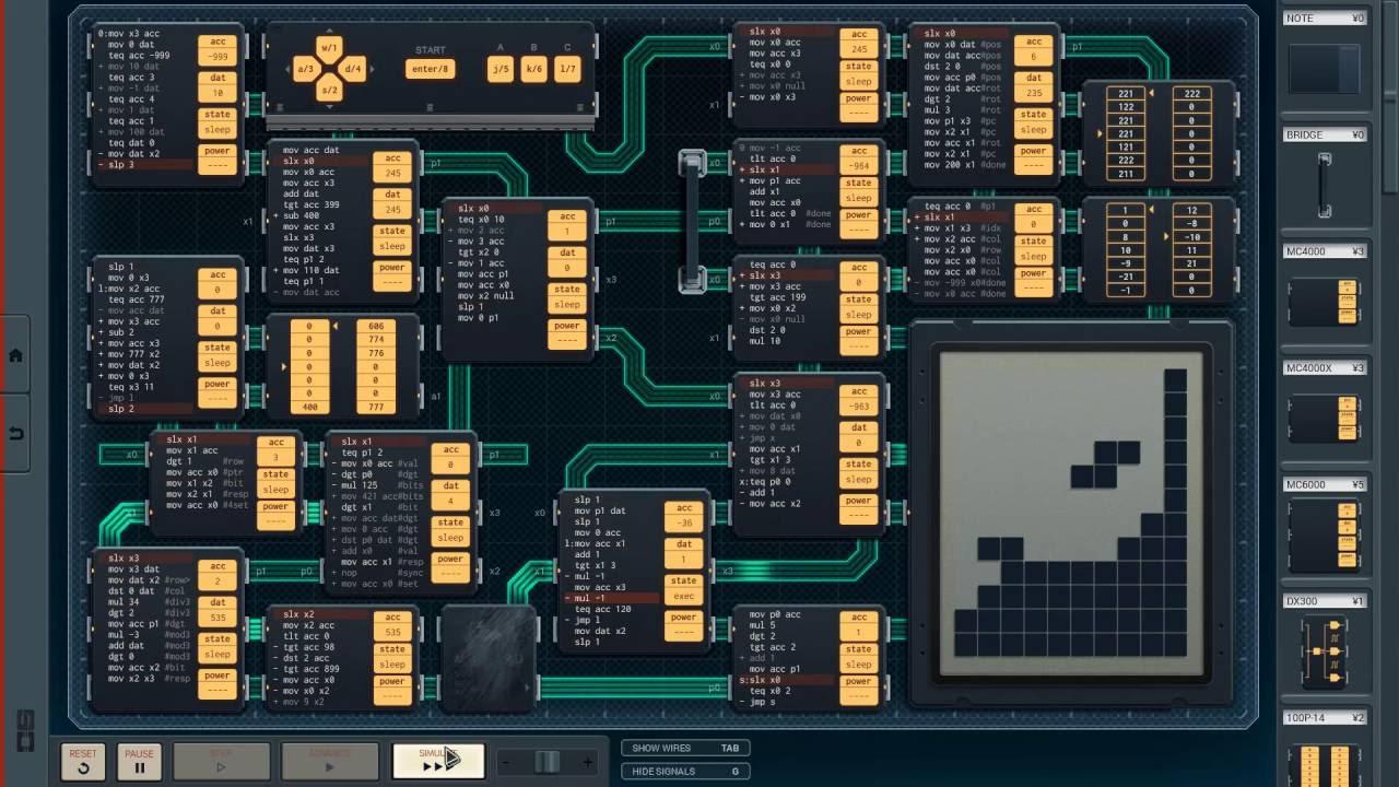 SHENZHEN I/O Coding Game