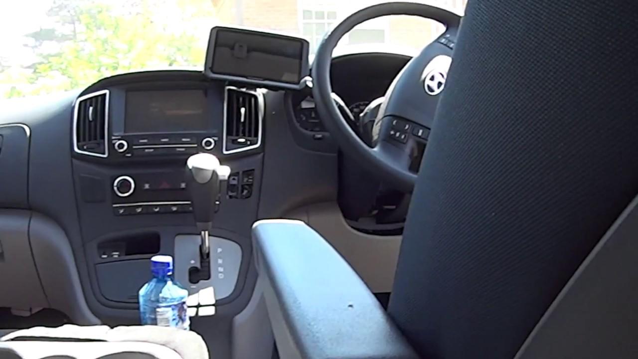 Hyundai iLoad seat armrest install