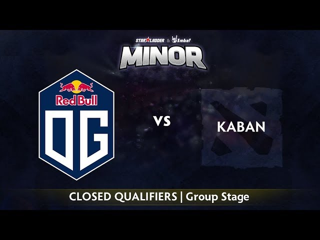 OG vs Kaban Game 1 - StarLadder ImbaTV EU Qualifier: Group Stage