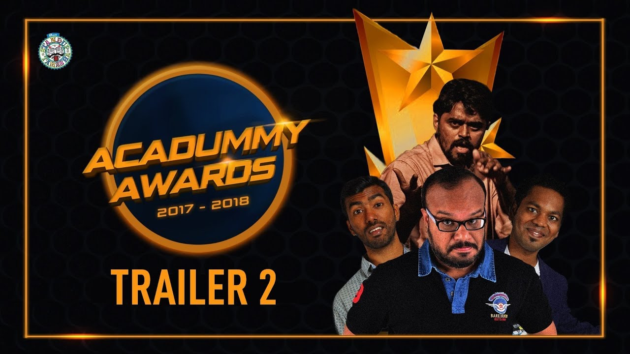 Trailer 2 - Acadummy Awards by evam Standup Tamasha
