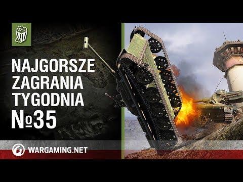 Najgorsze zagrania tygodnia №35 [World of Tanks Polska]