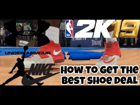 HOW TO GET THE BEST SHOE DEAL | NBA2K19