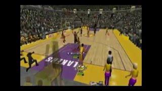 NBA Inside Drive 2004 Blazers vs Lakers Part 1