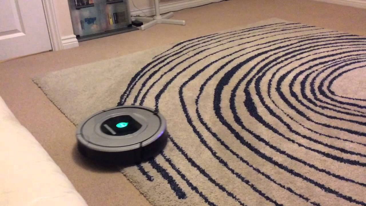 I Robot Hoover First Test Youtube