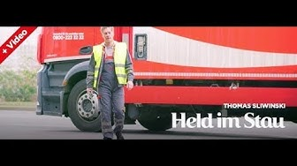 Coca-Cola Truckfahrer: Die gute Seele im Stau