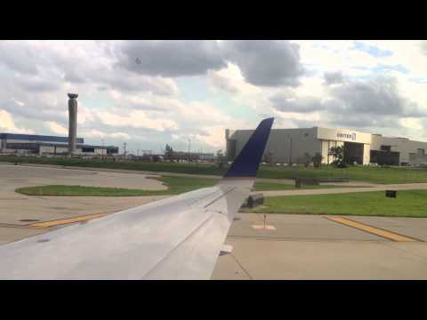 Takeoff At Madison MSN And Landing/Taxi At Chicago ORD - Embraer ERJ-135 - United Airlines UAL5922