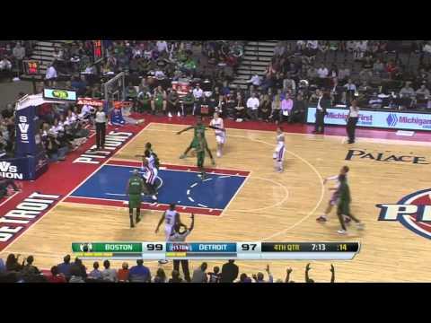 Boston Celtics vs Detroit Pistons | April 5, 2014 | NBA 2013-14 Season