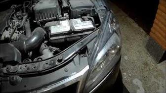 Kia Cee`d 2010 ajovalon vaihto. Kia ceed 2010 headlight removal.
