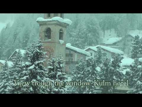 Enchanted winter landscape-St.Moritz-Swiss.Full HD