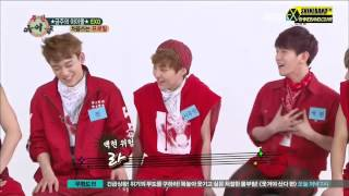 [EXO] 주간 아이돌 시우민, 루한 CUT - Weekly Idol Xiumin, Luhan Cut