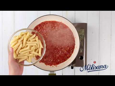 《茉莉La Molisana》波隆那肉醬筆管麵 - YouTube