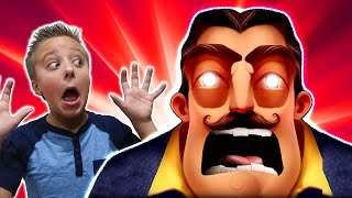 HELLO NEIGHBOR HORROR ADVENTURE Don't Let Him Find You!!