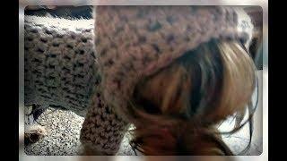Кофта с капюшоном для маленькой собачки. Вязание крючком