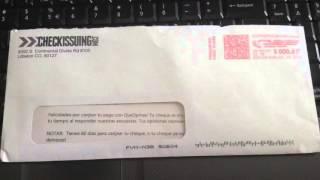 Mi opinión y primer cheque de Queopinas.com