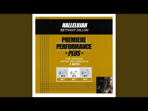 Hallelujah (Performance Track In Key Of D With Backgound Vocals)