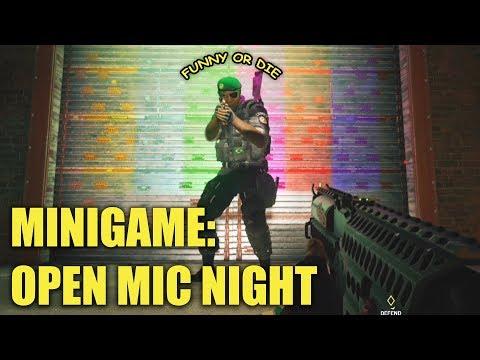 Open Mic Night #2! - Rainbow Six Siege