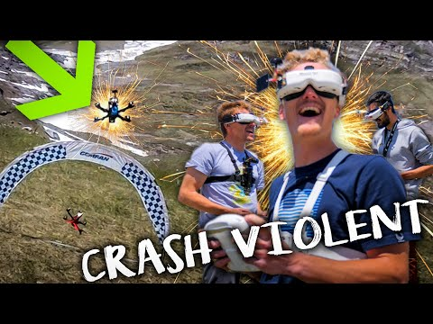 CRASH DE OUF - GAME OF DRONE ep1 - course racer fpv