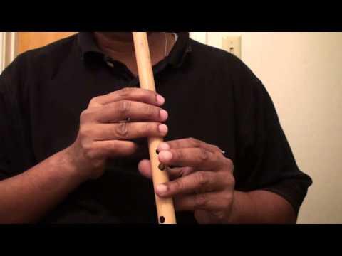 "Hindi Song On Flute - Meri Desh Ki Dharti Sona Ugle - ""Travails With My Flute"""