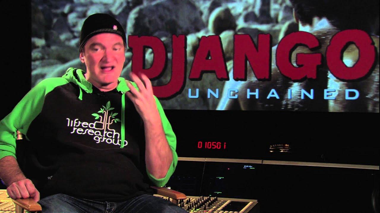 quentin tarantino django interview