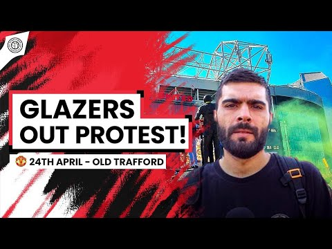 United Fans PROTEST Against The Glazers! | Fan Interviews