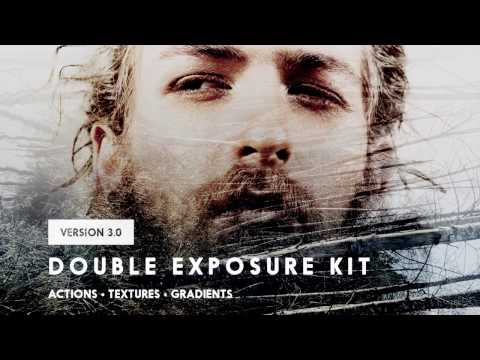 Double Exposure Kit for Photoshop