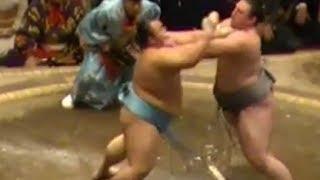 栃ノ心vs琴勇輝 SUMO Tochinoshin vs Kotoyuki 大相撲平成28年初場所 琴...
