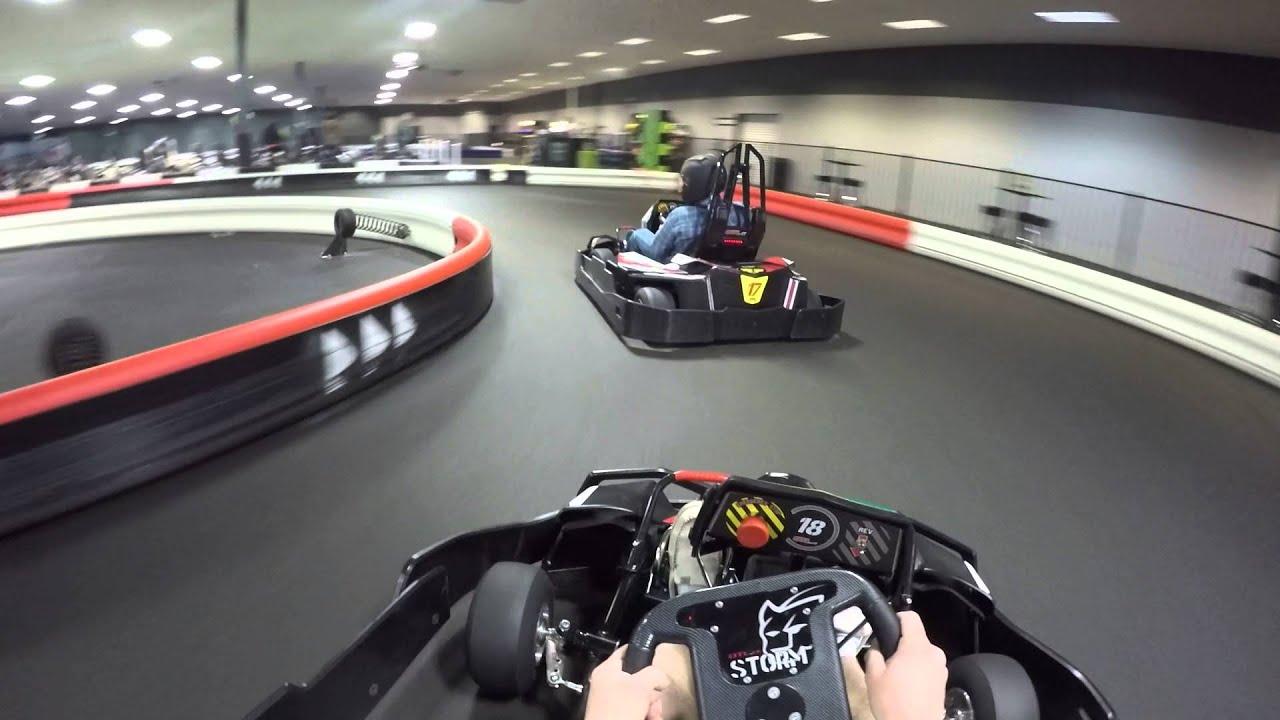 kart over oklahoma go karting at Xtreme Racing in Tulsa Oklahoma on the big track  kart over oklahoma