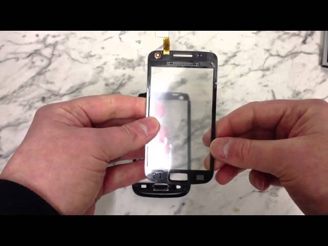 How To Change The Digitizer on a Samsung Galaxy W i8150