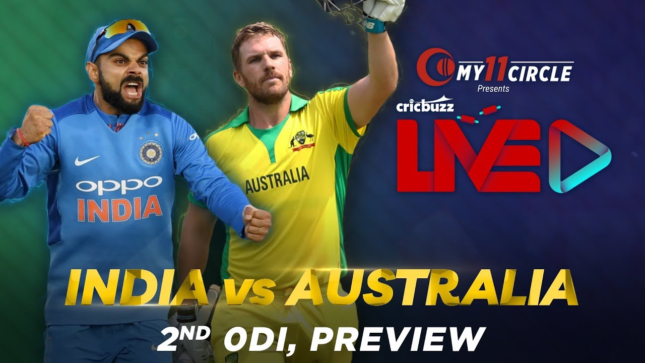 India V Australia Nd Odi Preview Youtube