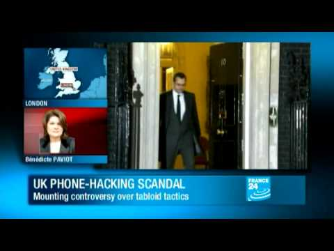 David Cameron - Coulson arrested over NOTW phone hacking scandal