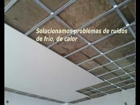 Insonorizaci n en m laga pladur yesos y escayolas techos for Empresas instaladoras de pladur en valencia