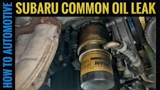 How to Reseal the Engine Oil Cooler/Oil Filter Housing on a Subaru Forester