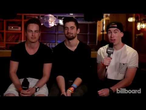 Hardwell, Dyro & Dannic Q&A: Ultra Music Festival 2014