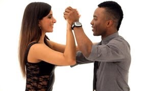 How to Do Bachata Basic Forward & Back | Bachata Dance