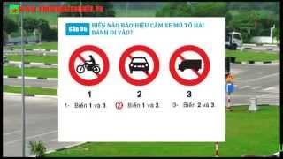 Học luật giao thông đường bộ (phần 2) - thibanglaixemoto.vn