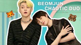 TXT Beomjun cute and funny moments (Beomgyu and Yeonjun)