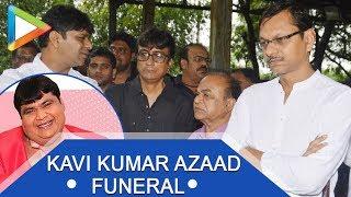 Dr HANSRAJ HATHI AKA KAVI KUMAR AZAAD funeral - UNCUT