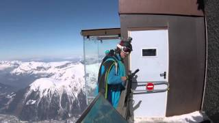 Base Jumper at Mont Blanc