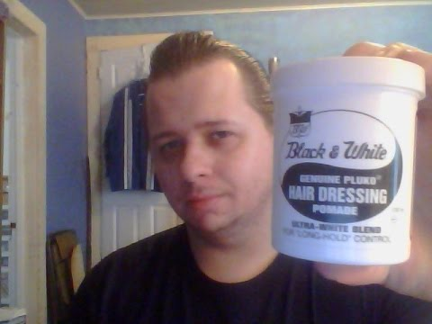 Black And White Pomade Review Youtube