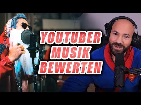 Julien Bam - SANTA der BOSS feat. EXSL95 / Ich bewerte 'MUSIK' von Youtubern