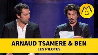 Arnaud Tsamere & Ben - Les Pilotes [Sketch]