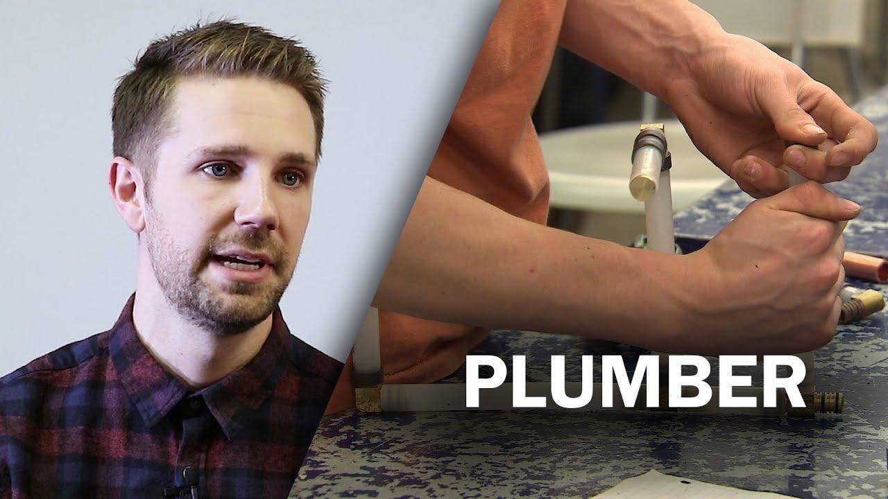 Job Talks - Plumber - Josh Explains the Benefits of Being a Plumber