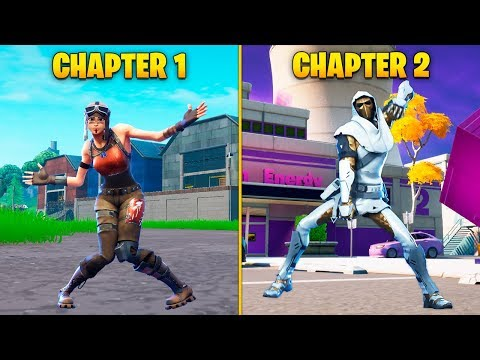 Evolution Of Season Dances In Fortnite | Chapter 1-2