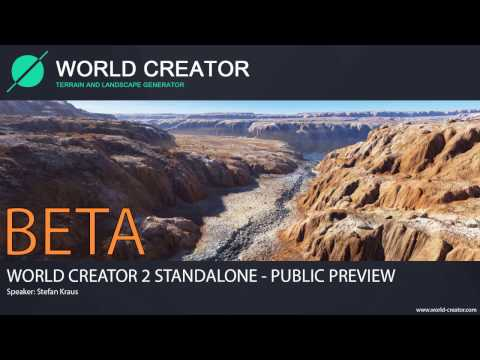 World Creator 2 Standalone - BETA 01