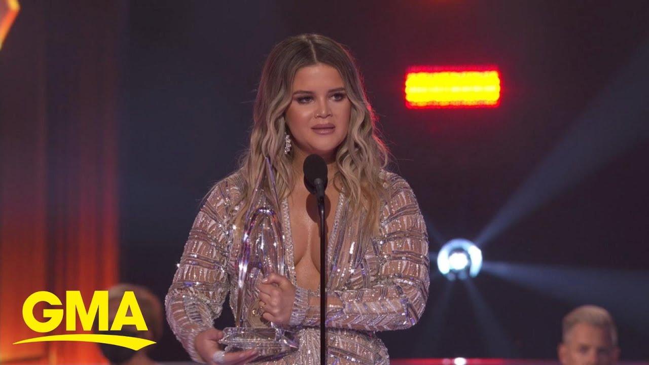 Maren Morris wins big at CMA Awards