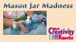 Mama Knows Best: Mason Jar Soap Dispenser