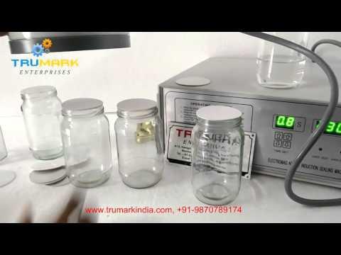 MANUAL INDUCTION SEALER - ON GLASS JAR