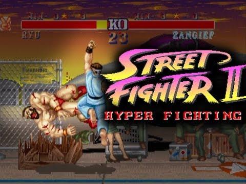 Street Fighter 2 Hyper Fighting Online Matches