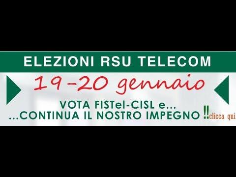 Fistel Elezioni RSU Telecom 2016